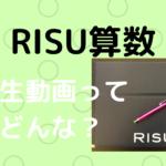 RISU算数先生動画